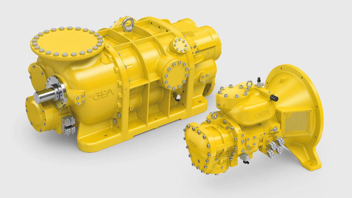 Now available: GEA Grasso Gas Screw Compressors